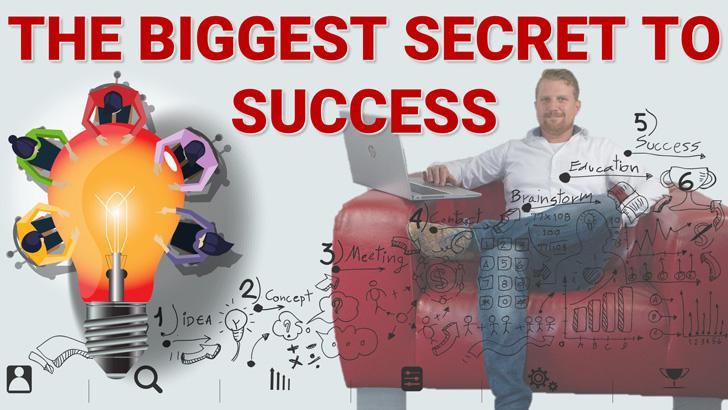 The biggest secret to success