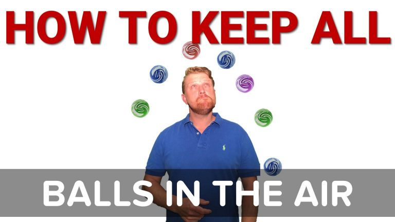 how to keep all the balls in the air
