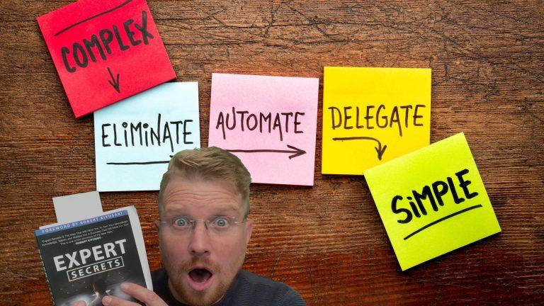 Eliminate Automate Delegate