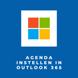 Agenda instellen in Outlook 365