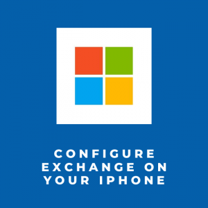 Outlook/mail instellen op je iPhone