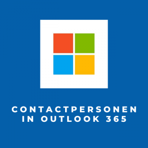 Contactpersonen in Outlook 365