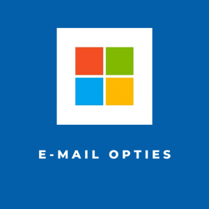 E-mail opties