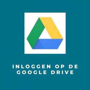Inloggen op de Google Drive