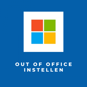 Out Of Office instellen