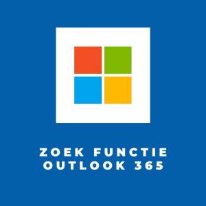 Zoek functie Outlook 365