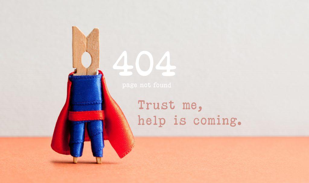 404 pagina-afbeelding